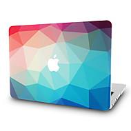 MacBook 케이스 용 기하학 패턴 폴리카보네이트 자료