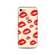 para la cubierta de la caja patrón transparente caso de la cubierta trasera sexy lady soft tpu para manzana iphone x iphone 8 más iphone 8