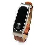 Недорогие Браслеты и трекеры для активного образа жизни-Xiaomi Wristbands xiaomi2 Ремешки на руку Пригодно для носки Кожа Белый Черный Коричневый Красный