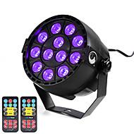 お買い得  -U'King 12W 12 LED LEDステージライト パープル AC100-240