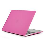 MacBook Etuis Dépoli Couleur Pleine Polycarbonate pour MacBook Pro 13 pouces / MacBook Pro 15 pouces / MacBook Air 13 pouces