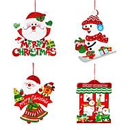voordelige Woondecoratie-2 stuks Kerstmis Kransen & GuirlandesForHoliday Decorations 36