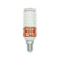 お買い得  LED コーン型電球-BRELONG® 1枚 12W 1000 lm E14 LEDコーン型電球 60 LEDの SMD 2835 温白色 ホワイト デュアル光源色 AC 220-240V