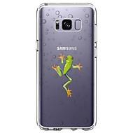 Χαμηλού Κόστους Galaxy S4 Θήκες / Καλύμματα-tok Για Samsung Galaxy S8 Plus S8 Εξαιρετικά λεπτή Διαφανής Με σχέδια Πίσω Κάλυμμα Ζώο Μαλακή TPU για S8 Plus S8 S7 edge S7 S6 edge plus