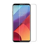 voordelige Screenprotectors voor LG-Screenprotector LG voor LG V30 Gehard Glas 1 stuks Voorkant screenprotector 2.5D gebogen rand 9H-hardheid High-Definition (HD)