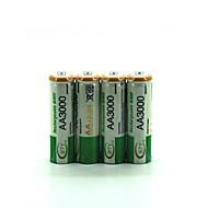 nikkel-waterstof oplaadbare batterij ni-mh aa 2500 1.2v 4 packs