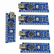 halpa Arduino-tarvikkeet-nano v3.0 atmega328p parantaa ohjain levyt arduino (5 kpl)