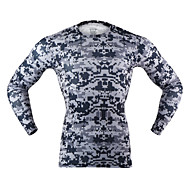 Arsuxeo 男性用 ランニングTシャツ 速乾性 低摩擦 ライトウェイト のために ランニング ヨガ ボクシング サイクリング エクササイズ&フィットネス フィットネス スパンデックス ポリエステル M L XL XXL