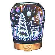 Недорогие Интеллектуальные огни-hhy новейший 3d-эффект художественное стекло привело свет лучший подарок ароматный увлажнитель - датчик красоты