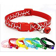 Halsbänder Tragbar Atmungsaktiv Klappbar Tier-Druck Nylon