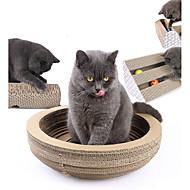 abordables Accesorios y Ropa para Gatos-Interactivo Almohadilla para Arañar Papel de alta calidad Para Juguete para Gato