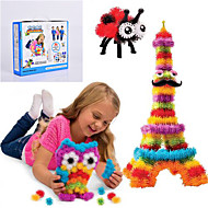 NEW Thorn Ball Clusters Good Package New Building Toy 370 Pieces DIY Kids Play 36 Accessories Kit Children Best Gift