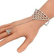 Női Gyűrű karkötők Alkalmi Divat Méretes ékszerek Ajándék Menő Ötvözet Geometric Shape Ékszerek Kompatibilitás Estély