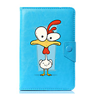Universal Cartoon Rooster PU Leather Stand Cover Case For 7 Inch 8 Inch 9 Inch 10 Inch Tablet PC
