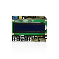 keyestudio 1602lcd näppäimistö kilpi arduino lcd näyttö atmega2560 vadelma pi yksi sininen näyttö mustavalo moduuli