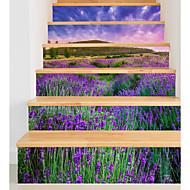 Floral/Botánico Romance Paisaje Pegatinas de pared Carcasa Protectora Calcomanías de Aviones para Pared Calcomanías 3D para Pared