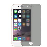 Недорогие Защитные плёнки для экрана iPhone-Защитная плёнка для экрана Apple для iPhone 6s iPhone 6 Закаленное стекло 1 ед. Защитная пленка для экрана Anti-Spy Защита от царапин
