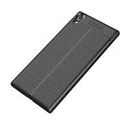 お買い得  携帯電話ケース-ケース 用途 Sony Xperia XA1 Ultra Xperia XA1 耐衝撃 つや消し バックカバー 純色 ソフト TPU のために Sony Xperia XZ1 Sony Xperia XZ Premium Sony Xperia XZ Sony Xperia