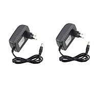 voordelige Voedingen-2 stks 12 v us eu adapter abs + pc voor led strip licht