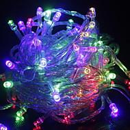 halpa LED-hehkulamput-valot sisätiloissa sisätiloissa 10m 100 ledit johtanut merkkijono valot meille eu au plug keiju valot