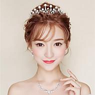 povoljno -Ženske Imitacija Pearl Umjetno drago kamenje Azijski Formalno Style Classic Style Sva doba Imitacija bisera Traka oko glave