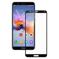 お買い得  -スクリーンプロテクター Huawei のために Honor 7X 強化ガラス 1枚 スクリーンプロテクター 傷防止 防爆 2.5Dラウンドカットエッジ