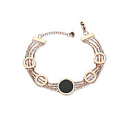cheap Editor's Picks-Women's Chain Bracelet - European, Fashion Bracelet Rose Gold For Daily Date
