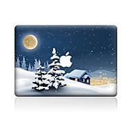 Χαμηλού Κόστους Αυτοκόλλητα για Mac-Αυτοκόλλητο Καλύμματος για Προστασία από Γρατζουνιές Χριστούγεννα Μοτίβο PVC MacBook Pro 15'' with Retina MacBook Pro 15 '' MacBook Pro