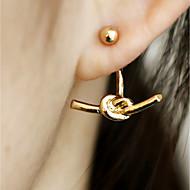 Women's Stud Earrings Drop Earrings Simple Vintage Casual Fashion Statement Jewelry Alloy Geometric Jewelry For Daily Club
