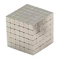 Brinquedos Magnéticos Cubos Mágicos Antiestresse 216 Peças 3mm Brinquedos Magnética Quadrada Dom