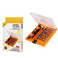 Cell Phone Repair Tools Kit 45 in 1 Tweezers Screwdriver Extension Bit Screwdriver Sim Card Ejector Pin Replacement Tools