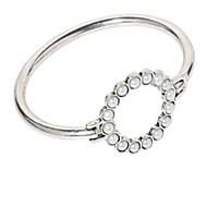 Жен. Браслет цельное кольцо Искусственный жемчуг Простой На каждый день Классический Мода Сплав Круглый Бижутерия Назначение Повседневные