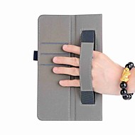 お買い得  タブレット用アクセサリー-ケース 用途 Samsung Galaxy フルボディーケース / タブレットケース ソリッド ハード PUレザー のために Tab A 8.0 (2017)
