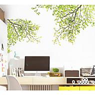 voordelige -Botanisch Bloemen Muurstickers 3D Muurstickers Decoratieve Muurstickers,Papier Huisdecoratie Muursticker Wand