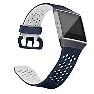 Недорогие Аксессуары для смарт-часов-Ремешок для часов для Fitbit ionic Fitbit Спортивный ремешок Классическая застежка силиконовый Повязка на запястье