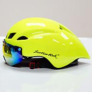 povoljno -Scohiro-Work Odrasli Bike kaciga CE Biciklizam 10 Vents Anti-Shock One Piece Prilagodljivo s odvojivim naočalama Ultra Light (UL) Brdski