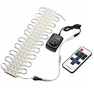 お買い得  -1set(60leds)0.5w 50lm ledリモコン1 dimmable ledキャビネットライト暖かい/冷たい白ac 85-265v