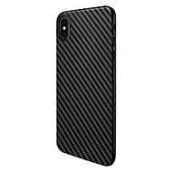 halpa -Etui Käyttötarkoitus Apple iPhone X Pölynkestävä Takakuori Linjat / aallot Pehmeä TPU varten iPhone X