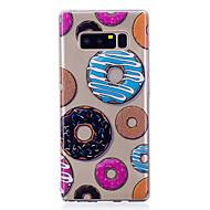 Funda Para Samsung Galaxy Nota 8 Diseños Cubierta Trasera Comida Suave TPU para Note 8