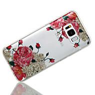 abordables Novedades en Accesorios para Samsung-Funda Para Samsung Galaxy S8 Plus S8 IMD Diseños Funda Trasera Flor Brillante Suave TPU para S8 Plus S8 S7 edge S7