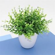 お買い得  造花-10 ブランチ プラスチック その他 テーブルトップフラワー 人工花