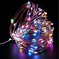 お買い得  -Zdm防水10メートル100 led usb 5ボルト妖精文字列ライトホタルライトクリスマスの装飾クリスマスライトマルチカラー