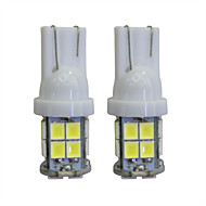voordelige Zaklampenkits-LORCOO 2pcs T10 Automatisch Lampen 2W 40lm LED Interior Lights