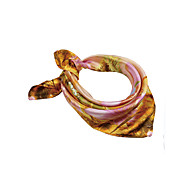 cheap Scarves & Wraps-Women's Rayon Square - Painting