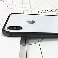halpa -Etui Käyttötarkoitus Apple iPhone X iPhone X Iskunkestävä Puskuri Yhtenäinen väri Kova Metalli varten iPhone X