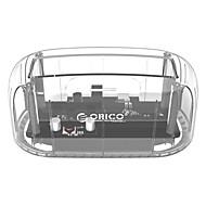 preiswerte -orico 6139u3-cr 2,5 3,5 transparent design usb3.0 zu sata3.0 hdd docking station unterstützung 8 tb festplattenlaufwerk werkzeug frei für