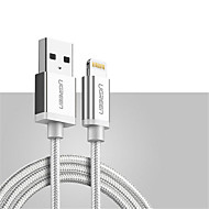 Lightning USB Cable Adapter Quick Charge Cable For iPhone 100 cm Zinc Alloy Nylon