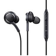 eo-ig955 korvakaapeli kuulokkeet dynaaminen muovi matkapuhelin kuuloke mikrofoni äänenvoimakkuuden säätö kuulokkeet