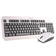 A4TECH KM-100 Office Keyboard And Mouse PS2/USB 104 Keys Spill-Resistant with 180cm Cable