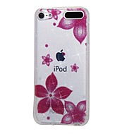 preiswerte iPod-Hüllen / Cover-Fall für Apple iPod touch5 / 6 Fall Abdeckung hohe durchdringende Pulver IMD Morning Glory weichen TPU Telefon Fall
